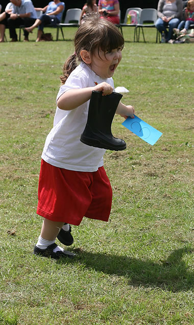 Nursery in Sports Day